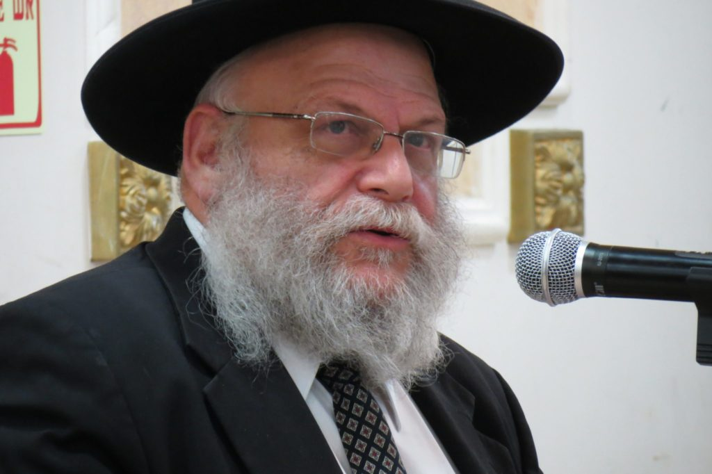 Rabbi Chaim Zev Malinowitz