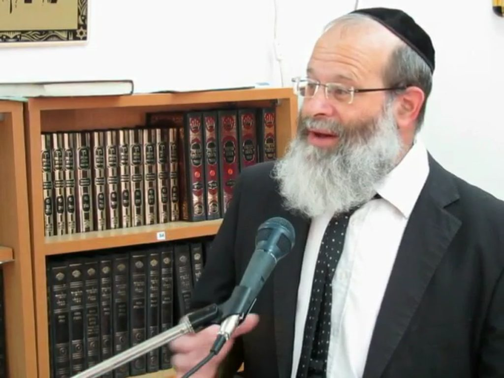 Rabbi Avraham Boruch Zachariash