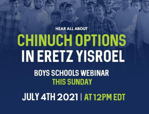 American Chinuch in Eretz Yisroel